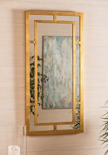 Benedict Mirror - Gold