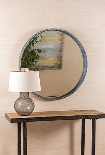 Parson Mirror - Aged Gray
