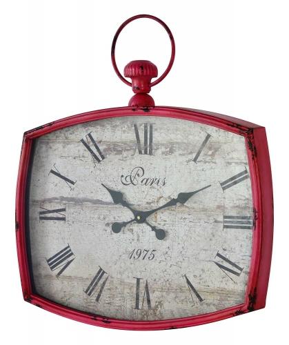 Emmeline Clock - Distressed Pink