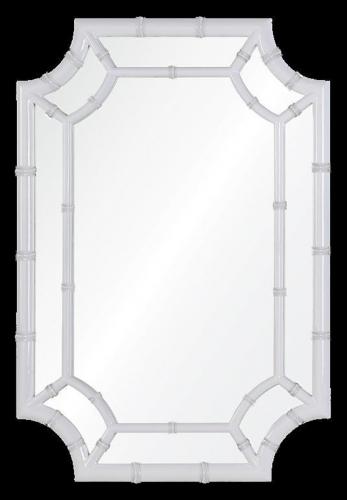 Wheaton Mirror - Glossy White