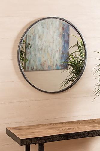 Wythburn mirror - Gray/Silver