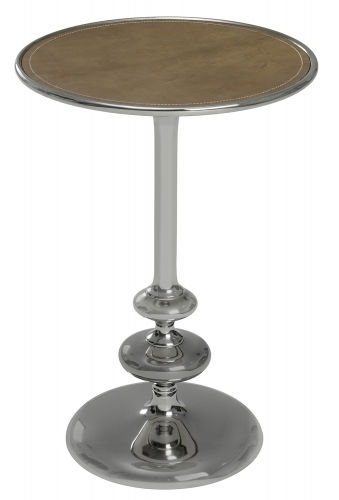 Cecil Side Table - Silver