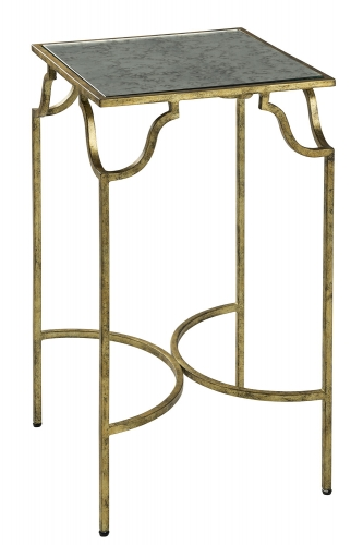Frisco Side Table - Antique Gold