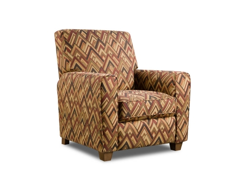 Barras Recliner Chair - Boomerang Sunset