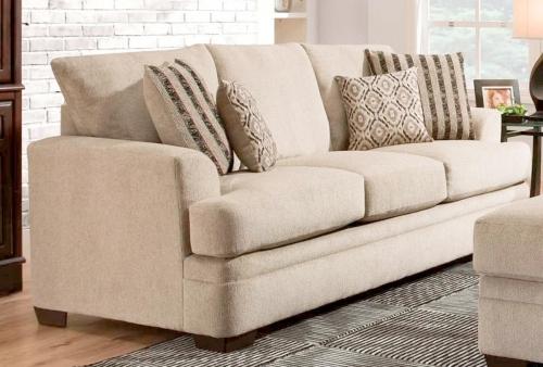 Calexico Sofa Set - Cornell Platinum
