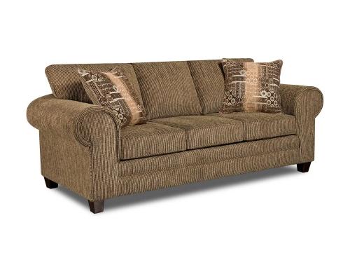 Aiken Sofa - Dickens Hickory