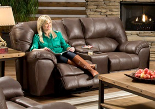 Parr Power Reclining Loveseat with Console