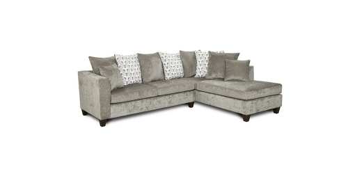 Bates Sectional Sofa - Grey