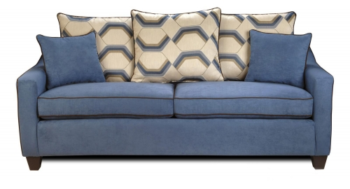 Georgia Sofa - Victory Galaxy/Sussex Cobalt
