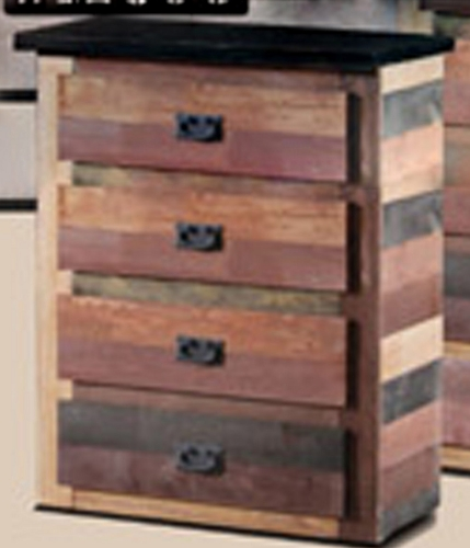 4 Drawer Chest - Multi Color