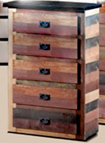 5 Drawer Chest - Multi-Color