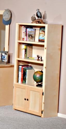 3524485 Bookcase - Desert Sand