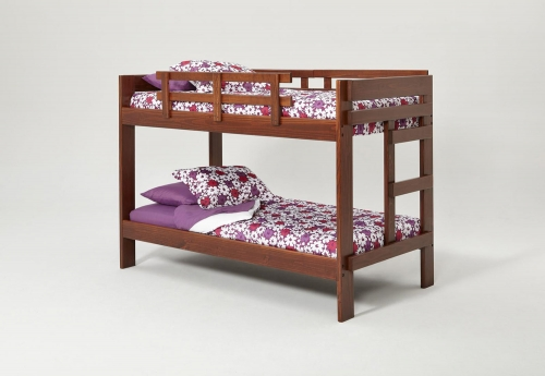362600 Twin Over Twin Bunk Bed - Dark