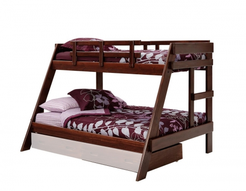 3626503 Twin Over Full A Frame Bunk - Dark