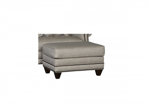 Walpole Ottoman - Grey