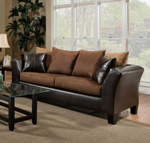 Cira Sofa Set - Chocolate