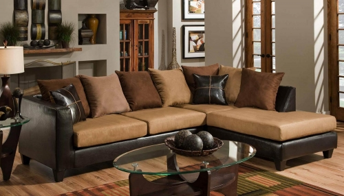 Sailor Sectional Sofa - Camel