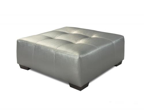Van Ottoman - Silver