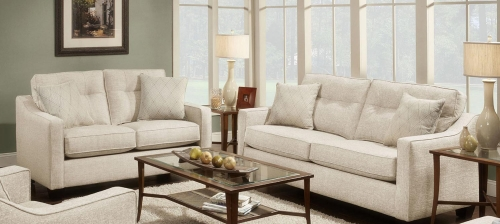 Colby Sofa Set - Beige