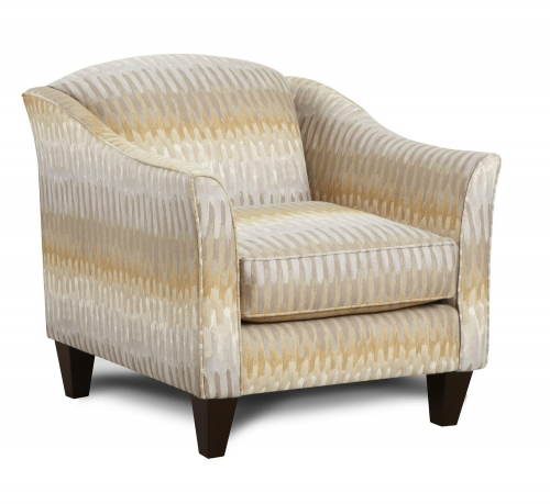 Delancy Accent Chair - Multicolor