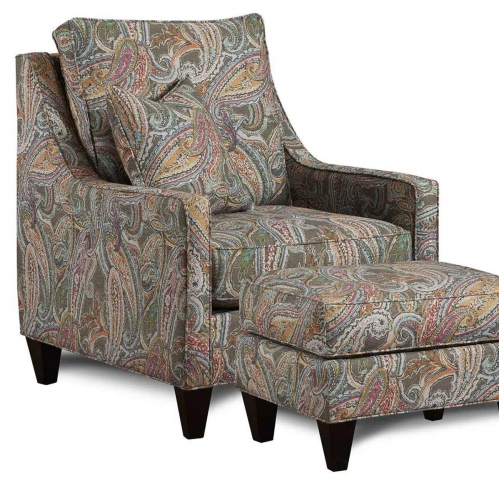 Drury Accent Chair - Multicolor