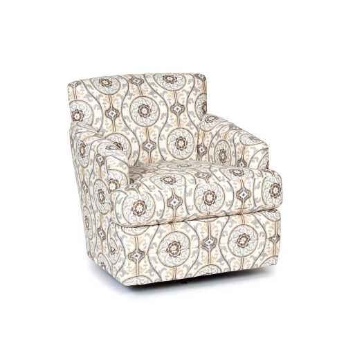 Jinger Swivel Accent Chair - Metal
