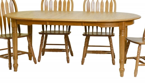 Tucker Table - Harvest Oak