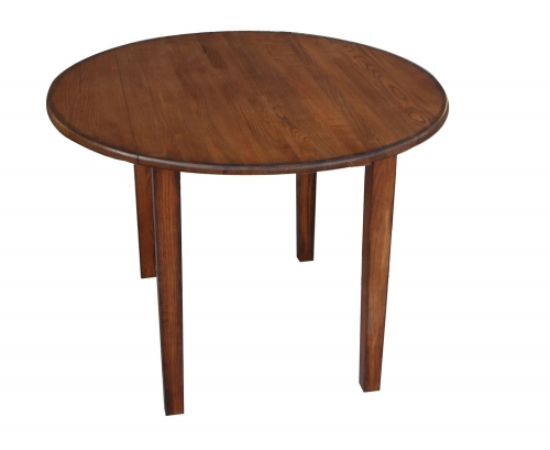 Fruitwood Table - Burnished Walnut