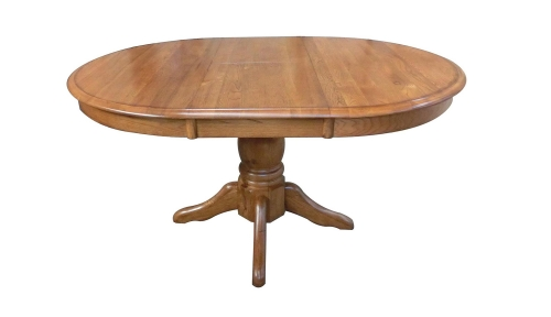 Lacewood 30-inch High Pedestal Table - Hervest Oak