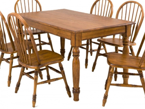 Rosewood Table - Burnished Walnut