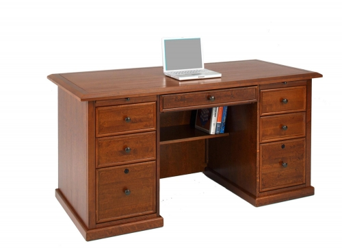 Mallow 60-inch Desk - Cherry