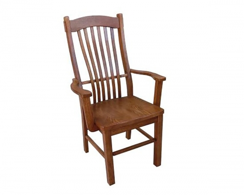 Backwood Arm Chair - Medium Oak