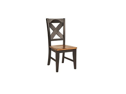 Toby Side Chair - Harvest/Black