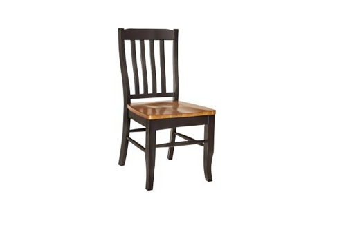 Twain Side Chair - Harvest/Black