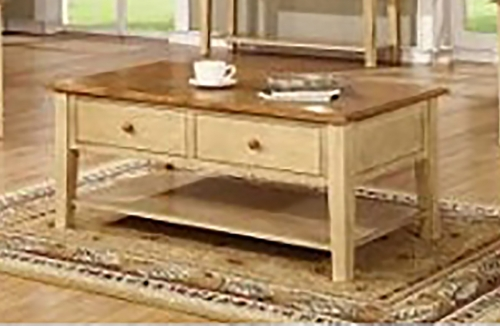 Tempest End Table - Two Tone