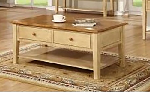 Tolliver End Table - Two Tone