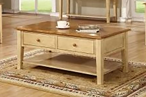 Valentine coffee Table - Two Tone