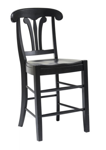 Adams 24-inch Barstool - Black