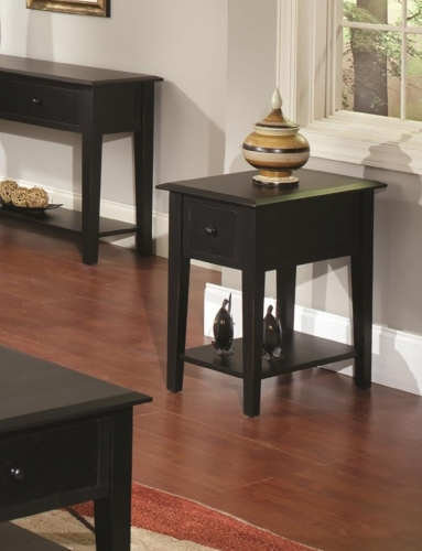 AshburnhamEnd Table - Black