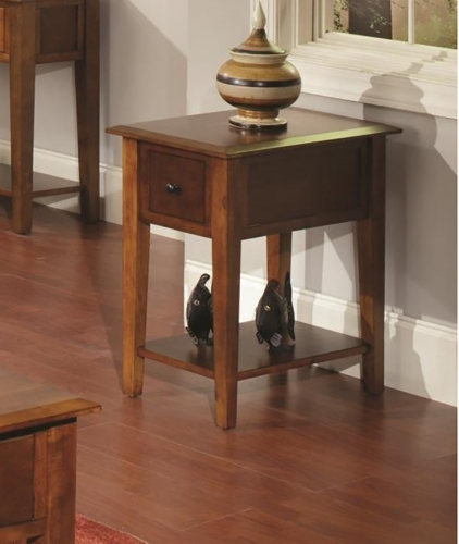 Ashburnham End Table - Tobacco