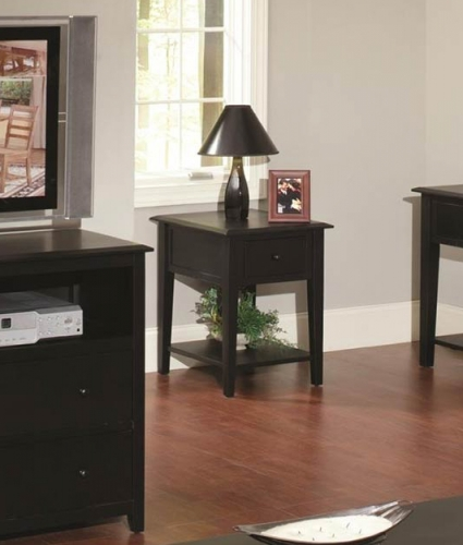 Ashby End Table - Black