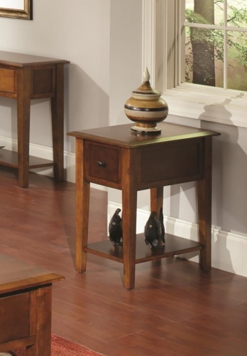 Ashby End Table - Tobacco