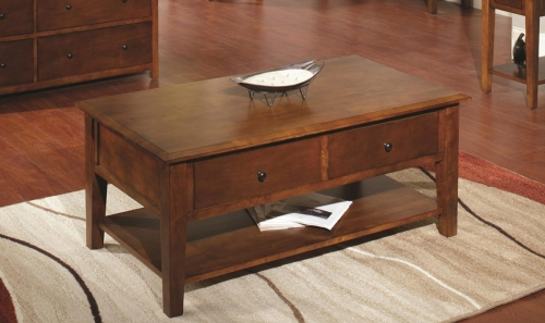 Barnstable Table - Tobacco
