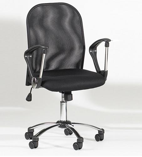 Chintaly Imports Mesh Back Swivel Tilt Hydraulic Chair