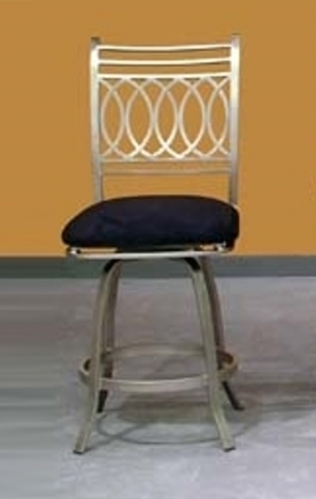 Julia Bar Height Memory Swivel Stool