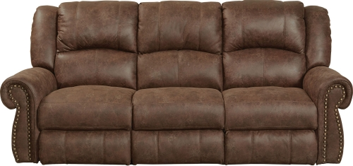 CatNapper Westin Reclining Sofa Set - Tanner