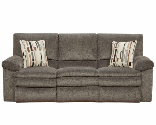 Tosh Reclining Sofa - Pewter