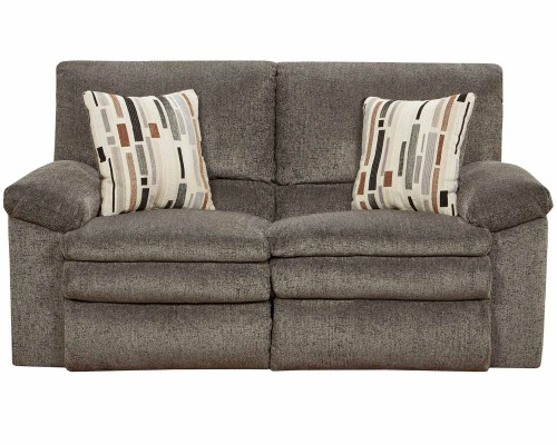 CatNapper Tosh Reclining Loveseat - Pewter