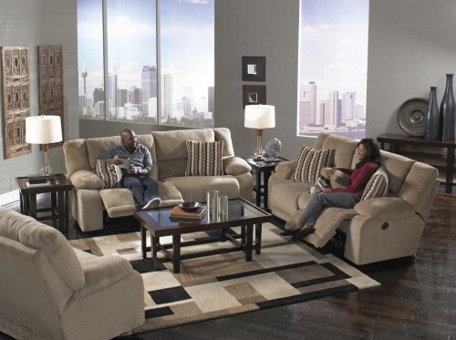 Hammond Power Reclining Sofa Set - Coffee
