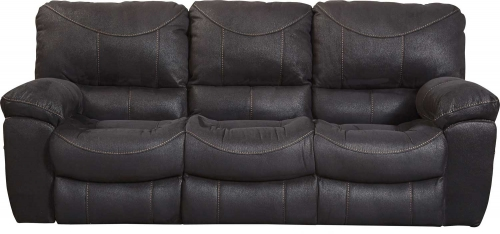 Terrance Power Reclining Sofa - Black